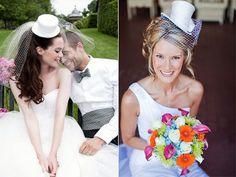 Geleneksel duvak görüntüsünden sıkıldıysanız, düğününüzde yeni moda gelin şapkaları tam size göre;