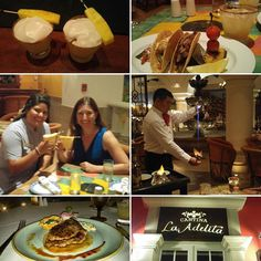 Welcome to Cancun! The superb team at #hyattzilaracancun outdid themselves at La Adelita and Maria Marie. I reccomend you drink La Rosa eat sope and taco. l loved my grilled flank steak and Giovanni made fire dance for Mayan coffee. #hyattallin