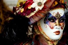 Walking around inside the Venice Carnevale is an unmissable experience. Italy's top carnival or mardi gras celebration was on the beginning of February, bu Carnival 2015, Mardi Gras Carnival, Venetian Carnival Masks, Carnival Of Venice, Venetian Masquerade, Masquerade Masks, Venice Carnivale, Venice Mask, Costume Venitien