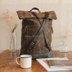 Leather Canvas Backpack (13) Canvas Backpack, Laptop Backpack, Sling Backpack, Rucksack Bag, Leather Backpack, Messenger Bag, Leather Roll, Leather Bags, Top Backpacks