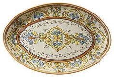 Tunisian Tableware | One Kings Lane  sc 1 st  Pinterest & Tunisian Tableware | One Kings Lane | KITCHEN KONNOISSEUR ~ | Pinterest