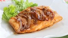 Teriyaki Salmon recipe that has only 4 quick ingredients.