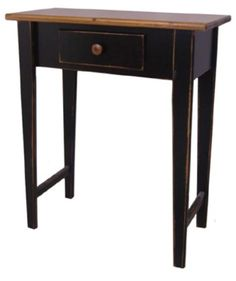 515 Small Hall Table — Springwater Woodcraft