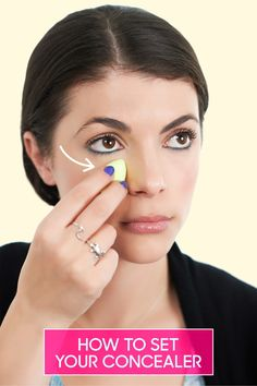 How to Stop Your Under Eye Concealer From Creasing