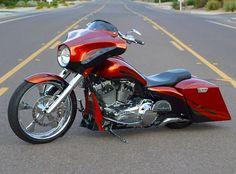 Billedresultat for paint schemes for harley baggers Harley Street Glide, Custom Street Glide, Harley Bagger, Bagger Motorcycle, Harley Bikes, Motorcycle Style, Motorcycle Paint, Harley Gear, Harley Sport