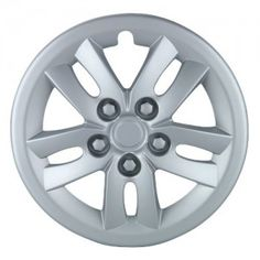Unitec Hollywood 75468 Hub Cap 16 Inch Silver - Car Wheel Trims (1 piece)