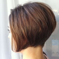 Stacked+Bob+Haircut+Back+View | Stacked Hairstyles Back View | Short Hairstyle 2013