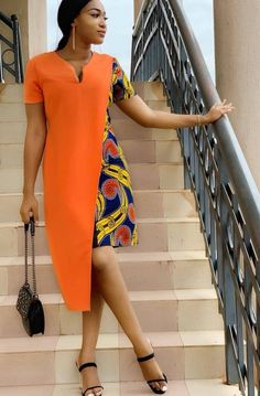 creative ankara gown styles for ladies from Diyanu Ankara Short Gown Styles, Ankara Styles For Women, Short Gowns, African Dresses For Women, African Print Dresses, African Attire, African Fashion Dresses, African Wear, African Inspired Fashion