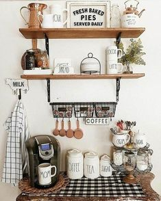 Coffee Station Ideas to Help You Quit Starbucks Posh Pennies Anny Cosmo 26 Home Coffee Station Ideas to Help You Quit Starbucks Posh Pennies 26 Home Coffee Station Id. Coffee Bar Station, Coffee Station Kitchen, Tea Station, Home Coffee Stations, Keurig Station, Coffee Nook, Coffee Bar Home, Coffee Corner, Coffee Mornings