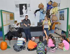 """We kicked off the Richmond Fair weekend by speaking to groups of Grade 4 students in the Agriculture Awareness Building on Friday. Sarah and Tracey talked about the importance of agriculture during WWI and WWII and the vital role """"Soliders of the Soil"""" played."""