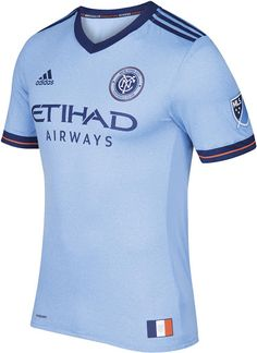 New York City FC 2017 soccer football primary USA MLS jersey sale top 2e376bd5296d5