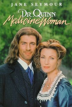 """Quinn Medicine Woman is a western drama that centers on """"Dr. Mike"""" a female physician who relocates from Boston. The complete series and TV movies are now available. Great Tv Shows, Old Tv Shows, Joe Lando, Capas Dvd, Dr Quinn, Nostalgia, Cinema Tv, Plus Tv, Michaela"""
