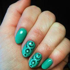 Весенне-летний маникюр #маникюр#nail#nails#manicure#nailart