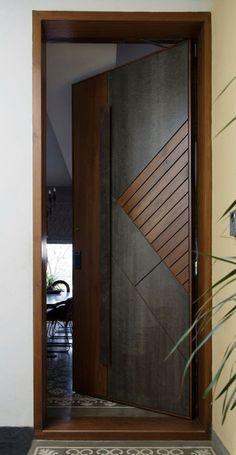 Modern Entrance Door, Main Entrance Door Design, Modern Wooden Doors, Wooden Main Door Design, Modern Door, House Main Door Design, Flush Door Design, Room Door Design, Door Design Interior
