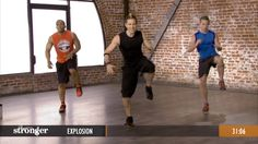 Explosion - A STRONGER High Intensity Plyometric Workout (Video)
