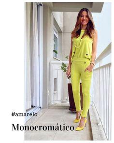 """Estilo da Flá on Instagram: """"Look total #yellow 🌞 já me fala aqui sem pensar muito, você usaria? Essa cor transmite alegria, abundância, criatividade, curiosidade,…"""""""