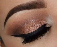 #eyemakeup #pretty #makeup #bronze