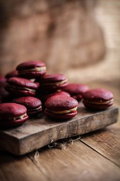 Red Velvet & Salted Caramel Whoopie Pies | Adventures in Cooking