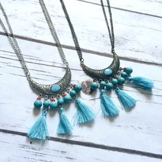 Mystic Boho  Necklace and Earring Set