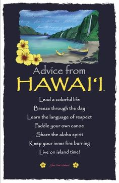 """Share the aloha spirit."" Advice from Hawai'i Your True Nature Hawaii Vacation, Hawaii Travel, Oahu, Hawaiian Words And Meanings, Hawaii Quotes, Aloha Quotes, Ocean Quotes, Beach Quotes, Nature Quotes"