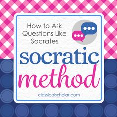 If You Want a Homeschool Kid Who Knows How to Think, Learn How to Ask Qs In this episode of The Classical Scholar's Mom's Course Teaching Workshop, Christie and I are chatting about the…