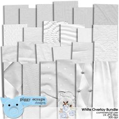 White Overlay Bundle - $5.00 : Digital Scrapbooking Studio My Wish List, Digital Scrapbooking, Overlays, Calendar, Commercial, Studio, Holiday Decor, Design, Products