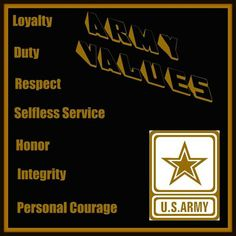 Army personal courage