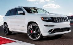 2014 Jeep Grand Cherokee SRT.