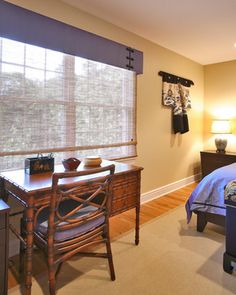 japanese bedroom design ideas, pictures, remodel and decor Asian Bedroom, Japanese Bedroom, Valance Window Treatments, Window Coverings, Asian Window Treatments, Box Valance, Cornice Box, Window Valances, Cornice Boards