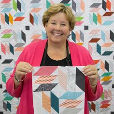 New Friday Tutorial and Fabric Feature: Diamonds Squared Quilt featuring…