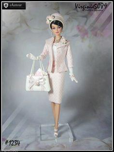 Tenue Outfit Accessoires Pour Fashion Royalty Barbie Silkstone Vintage 1234   eBay