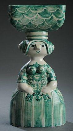 Bjørn Wiinblad Paper People, Royal Copenhagen, Ceramic Design, Victoria And Albert Museum, Paper Clay, Museum Of Modern Art, Ceramic Artists, Plant Holders, Branding