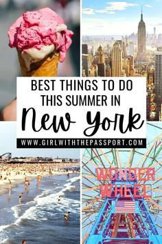 best things to do this summer in New York City | New York City Bucket List | Summer in NYC | Summer in New York City | NYC itinerary | New York City itinerary | NYC travel guide from a Local | New York City travel guide from a local | things to do in NYC | things to do in New York City | New York City photography | NYC photography | NYC travel tips | New York City travel tips | Where to eat in NYC New York Travel Guide, New York City Travel, Travel Guides, Travel Tips, New York City Attractions, Nyc Itinerary, Summer In Nyc, York Things To Do, Destinations