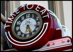 Busy Bee Cafe, Ventura downtown Main Street, by tnachtrab, is a cool retro neon sign.
