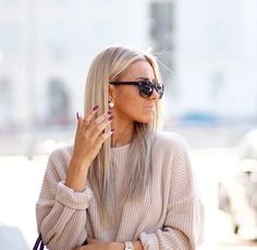 As ek oit we blond gan sal dit so moet lyk! Hair Inspo, Hair Inspiration, New Hair, Your Hair, Brown Blonde Hair, Cream Blonde Hair, Hair Looks, Pretty Hairstyles, Hair Makeup
