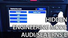 How to unlock secret engineering mode menu in #RNSE (#Audi, A3, A4, A6, R8, TT, Seat Exeo, #Gallardo) #cars