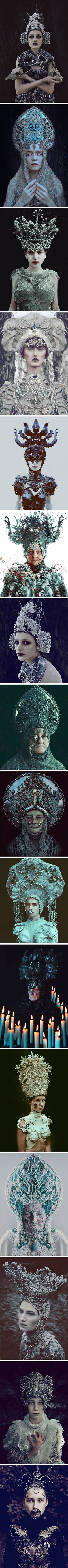 Pagan-Themed Photoshoot Of Slavic Culture