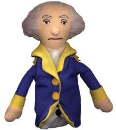 George Washington Magnetic Finger Puppet