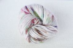 Hand Dyed Knitting Yarn Adele, Silk & Baby Alpaca Wool Yarn, Gradient Yarn for Sweater, Plum and Berries Color, 50 g 110 m
