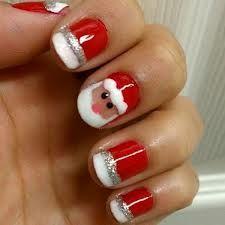 Cute Santa nails