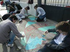 En copiplan.com.uy/ apoyamos a #Pintando veredas.