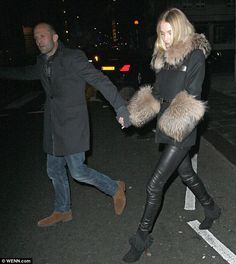 Jason Statham & model girlfriend Rosie Huntington-Whiteley