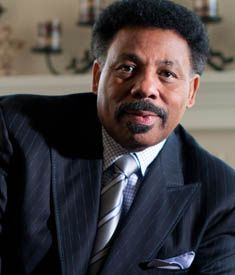 """DR. TONY EVANS: """"Vote for the candidate and the party that will most give you the opportunity to advance the kingdom of God. And even though people may vote for that differently, if the kingdom of God and its advance is your primary concern, then you'll be Democrat lite or Republican lite, so that in either party you'll be the L-I-G-H-T."""""""