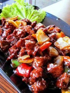 Resep Ayam Lada Hitam : resep, hitam, Memasak