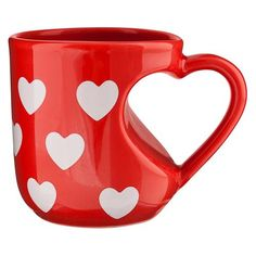 What a perfect mug for Valentine's Day! #Coffee #MrCoffee #ValentinesDay