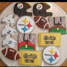 Steelers cookies :)