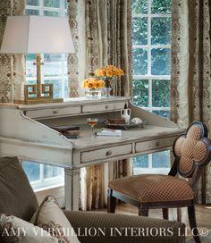 Amy Vermillion Interiors LLC- Writing Desk