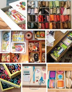 Inspiration: Organized Drawers, containerize!
