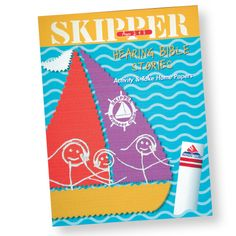 Skipper Hearing Bible Stories Activity Book Ages 2-3