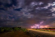 Monsoon Season, New Mexico by Raymond Haddad on 500px